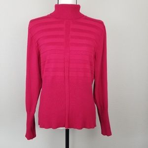 GNW Red Turtleneck Sweater